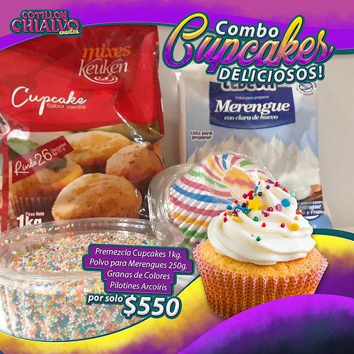 """Combo """"Cupcakes Deliciosos!"""""""