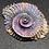 Thumbnail: Bismuth Cast Ammonite