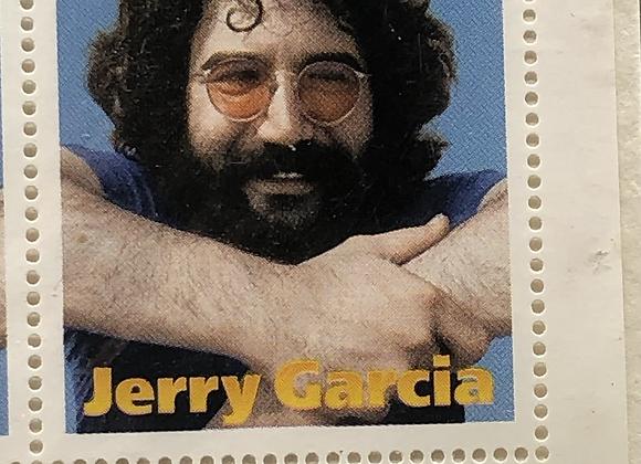 Jerry Garcia Stamp Set 1995 Tanzania