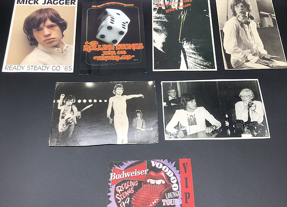 Rolling Stones Fan Pack Post Cards