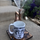 Thumbnail: Coffee Pour Over Stand - Dark Wood/Ceramic Mug