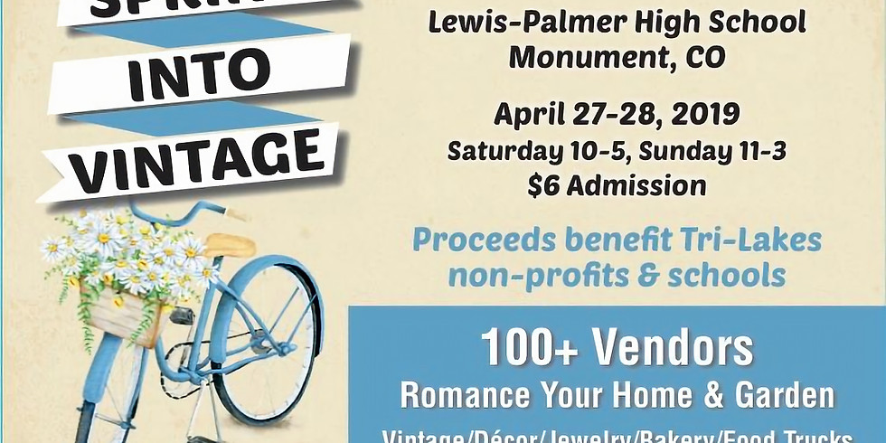Spring into Vintage Show and Sale