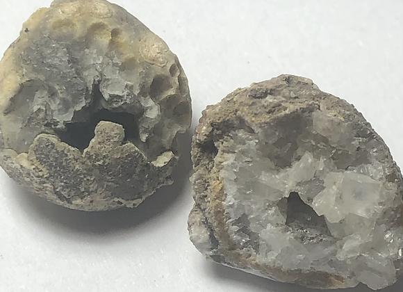 Tiny Geode set of 4