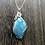 Thumbnail: Amazonite Wrapped in Silver Necklace