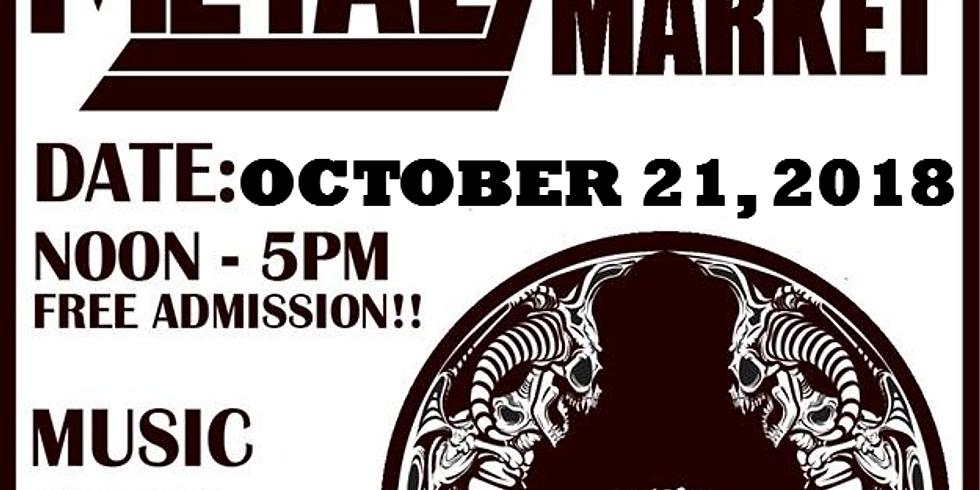 Heavy Metal Flea Market October