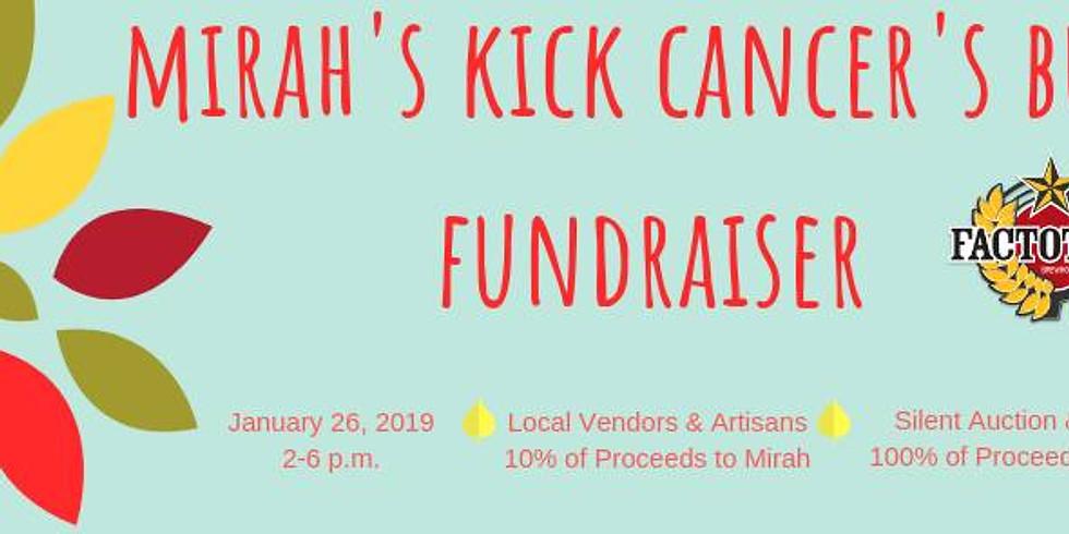 Mirah's Kick Cancer's Butt Fundraiser