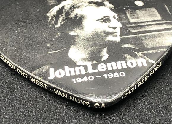 Vintage John Lennon Memorial Buttons 1980