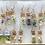 Thumbnail: Mini Terrarium Earrings Lot of 7 Pair