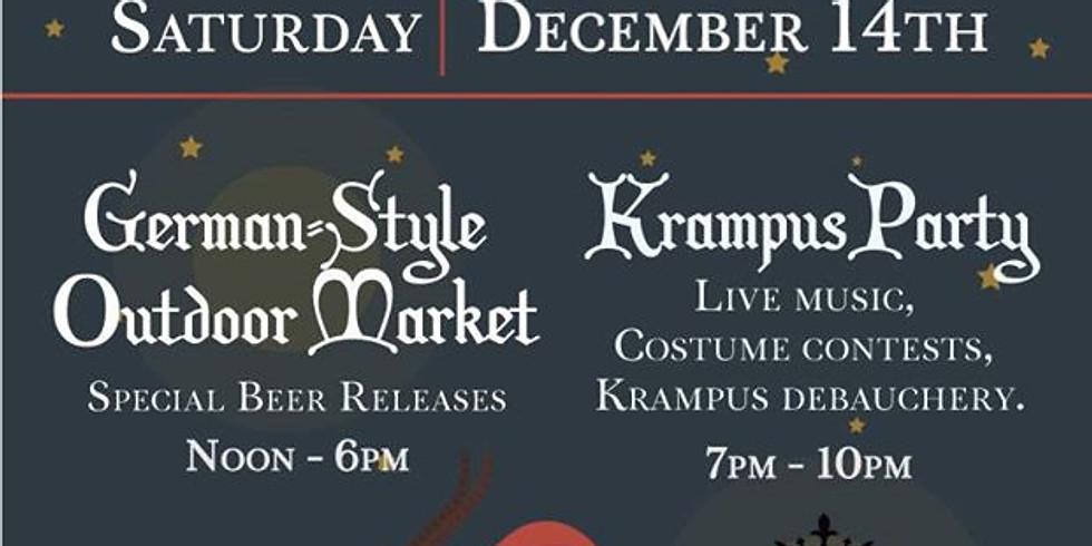 Krumpusnacht & Holiday Market