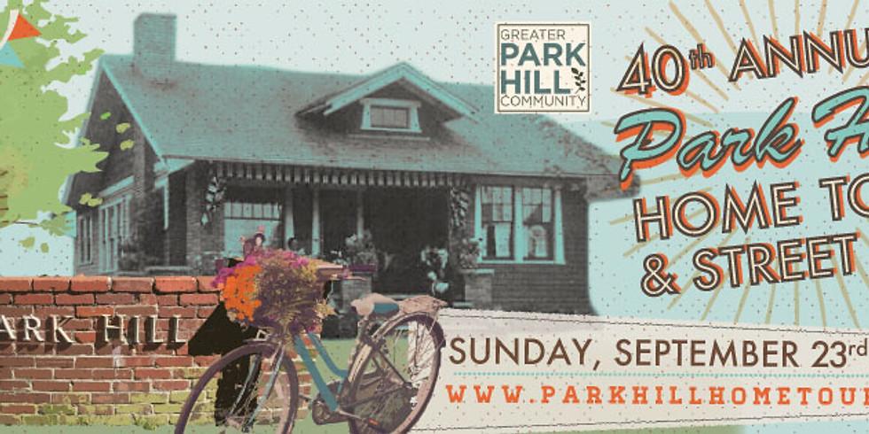 40th Annual Park Hill Home Tour & Street Fair