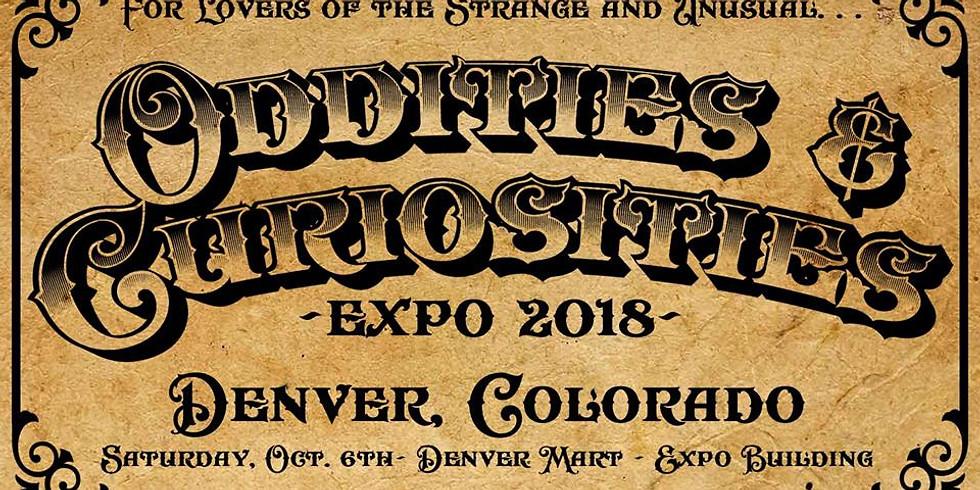 Oddities & Curiosities Expo 2018 Denver, Colorado