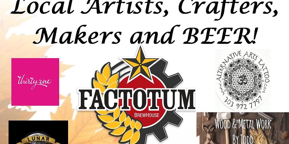 Factotum Brewhouse Pop-Up Shop