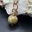 Thumbnail: Simple Stone & Copper Necklace