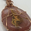 Thumbnail: Copper Wrapped Agate Necklace