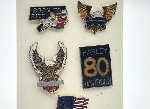 Vintage Pinback Pins