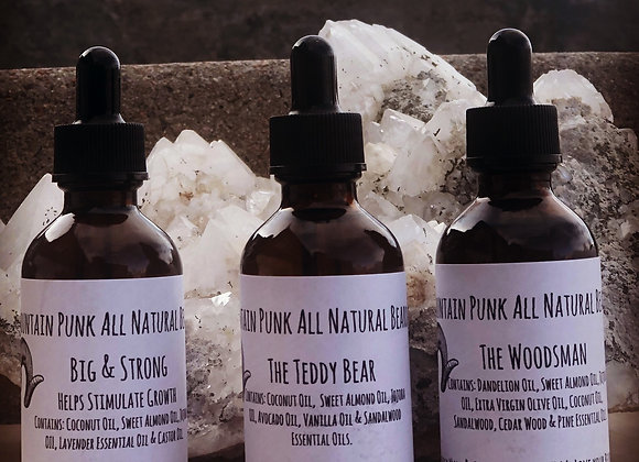 All Natural Conditioning Beard Oils