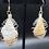 Thumbnail: Citrine Crystal Caged Earrings