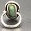 Thumbnail: Vintage Sterling Silver & Larimer Ring