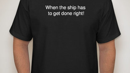 Ship Done Right T-shirt