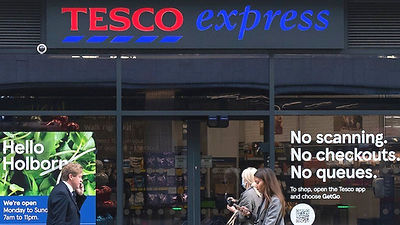 Tesco takes on Amazon Fresh with launch of 'just walk out' store