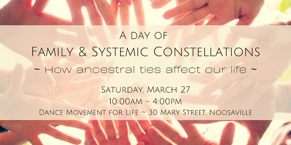 A Day of Family & Systems Constellations