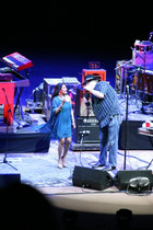 Falu Performs at Red Rocks Ampitheatre with Blues Traveler