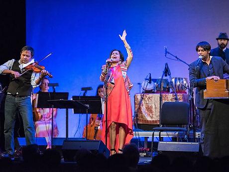 Falu & Karyshma with Cobalt Collective