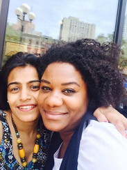 Falu with Adrienne C. Moore