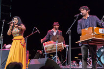 Falu Opens for Asha Bhosle at Filene Center in Wolf Trap