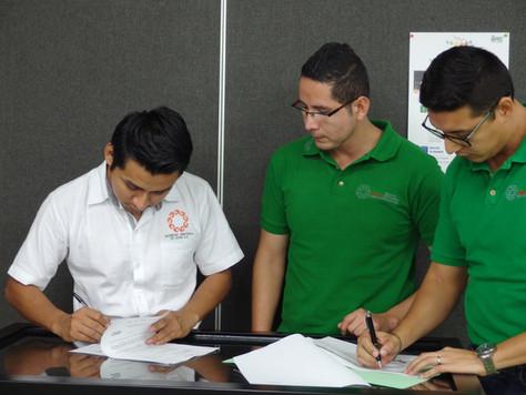 SOCIED AC firma convenio con Punto México Conectado