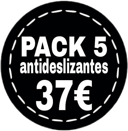 Pack 5 calcetines antideslizantes SHAO