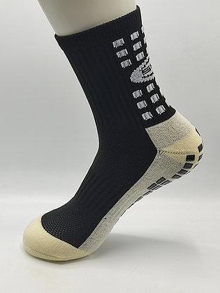 calcetin antideslizante negro