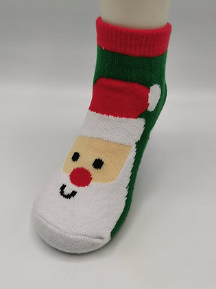 Calcetines Navidad Papá Noel con gorro