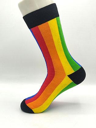 Calcetines Rayas Multicolor Vertical
