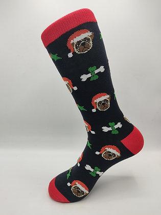 Calcetines  Perro Navidad