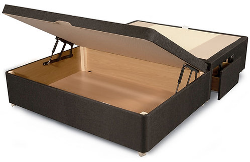 Clayton front opening base with two drawers