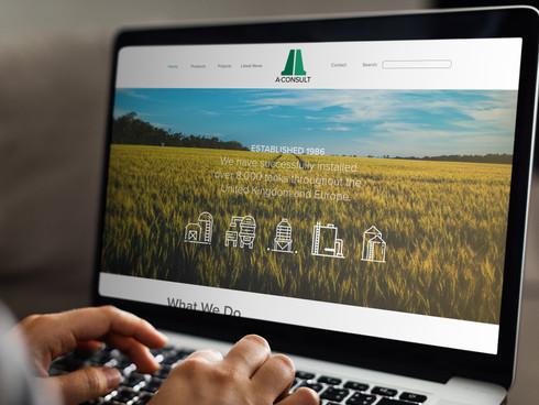 A-Consult Website