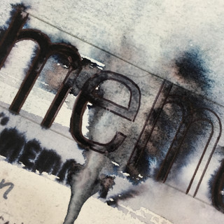 Memory Loss Art Project