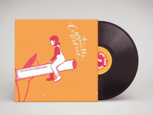 The Cigarette Duet - Music Video & Vinyl Cover
