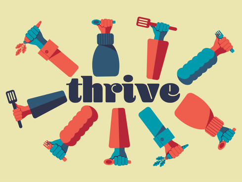 RSA Student Design Awards Commended Project - Thrive