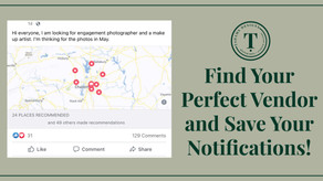 Navigating Facebook Wedding Vendor Groups as a Newly Engaged Person