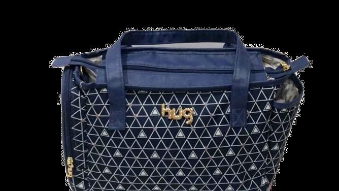 Bolsa pequena com bolso externo para lenço umedecido Hug