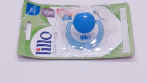 Chupeta divertida azul Lillo 6+