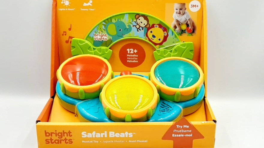 Brinquedo musical safari Bright Starts
