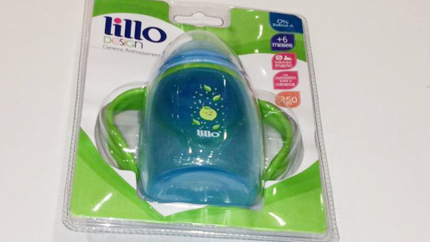 Caneca design azul Lillo 6+