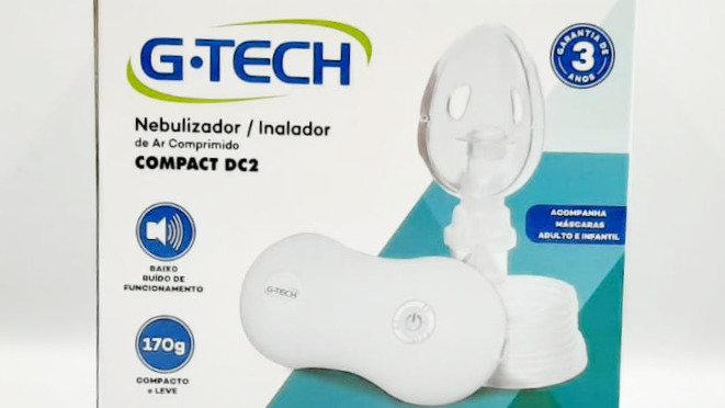 Nebulizador / Inalador de ar comprimido G-tech