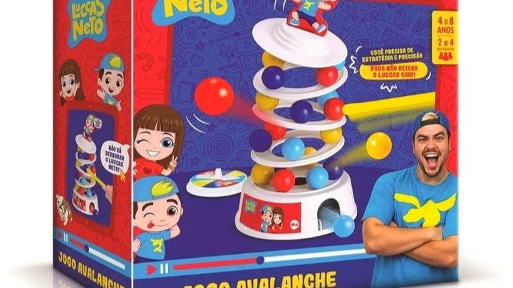 Jogo avalanche Luccas Neto Elka