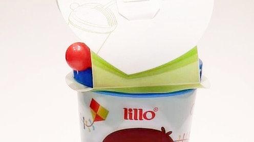 Copo com canudo retrátil +6m Lillo