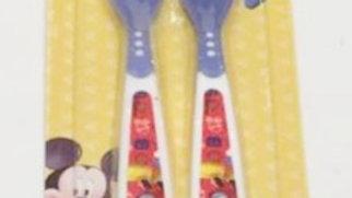 Colheres termossensíveis com 2 Mickey