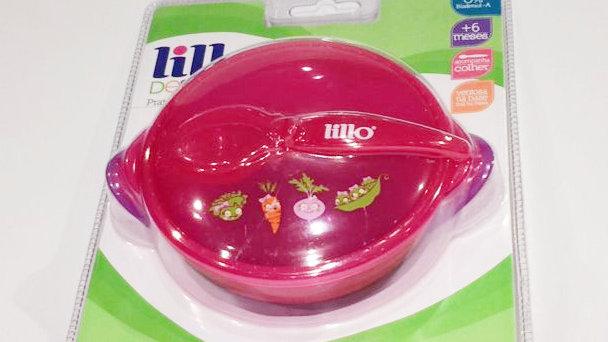 Prato com ventosa rosa Lillo